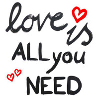 Lunch Napkins - Love is all you need