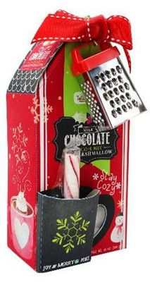 Too Good Gourmet Cocoa Marshmallow House - Red 12/cs