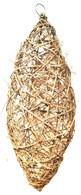 "Large Elliptical shaped Natural vine hanging decor - 10""x28""H"