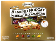 Golden Bonbon Assorted almond nougat 250 gr., 12/cs