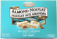 Golden Bonbon Sea Salt Caramel soft honey nougat 200 gr., 12/cs