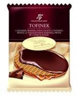 Tago Tofinek chocolate covered caramel wafers 50 gr., 24/cs
