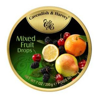 Cavendish & Harvey MIXED FRUIT Drops 200 gr., 9/cs