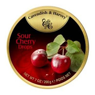 Cavendish & Harvey SOUR CHERRY Drops 200 gr., 9/cs