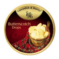 Cavendish & Harvey BUTTERSCOTCH Drops 200 gr., 9/cs