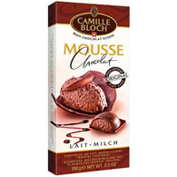 Camille Bloch Milk Chocolate Mousse 100 gr., 12/cs