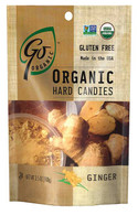 Go Organic Chewy candies - Ginger 100 gr., 6/cs