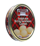 McGinnis Scottish style shortbread cookies in a tin 101 gr., 24/cs