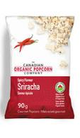 The Canadian Organic Popcorn, Sriracha old fashioned kettle corn 90 gr., 12/cs