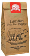 Canada True Polar Bear Droppings - Chocolate Coated Cashews 80 gr., 24/cs