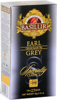Basilur Exclusive premium Quality Ceylon Black Tea - EARL GREY (25 bags/box) 24/cs