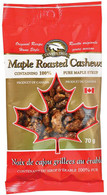 Canada True Maple Cashews 70 gr., 48/cs
