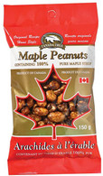 Canada True Maple Peanuts 150 gr., 48/cs