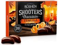 Roshen Shooters Liqueur Chocolates - Tequila 150 gr., 10/cs