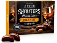 Roshen Shooters Liqueur Chocolates - Brandy 150 gr., 10/cs
