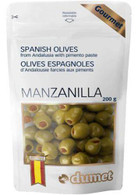 Dumet Manzanilla Spanish Olives 200 gr., 10/cs