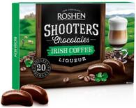 Roshen Shooters Liqueur Chocolates - Irish Cream 150 gr., 10/cs