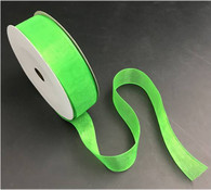 Organza Ribbon - 100 yards - Green