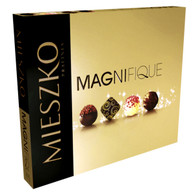 Magnifique Special Edition assorted chocolate collection by Mieszko 188 gr., 8/cs  Gourmet gift basket supplies at the best wholesale price