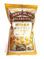 Coney Island Kettle Popcorn with Himalayan pink salt - Butter Me Up 141 gr., 12/cs