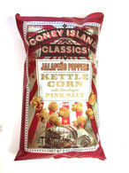 Coney Island Kettle Corn with Himalayan pink salt - Jalapeno Poppers 226 gr., 12/cs