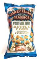 Coney Island Kettle Corn with Himalayan pink salt - Sweet & Sea Salty 226 gr., 12/cs