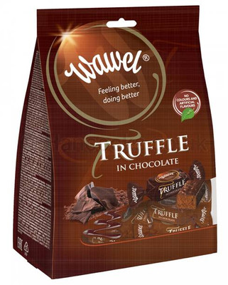 Wawel Chocolate truffle 195 gr., 7/cs