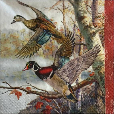 Lunch Napkins - Wild Ducks