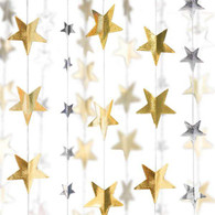 Lunch napkins - Star Garlands