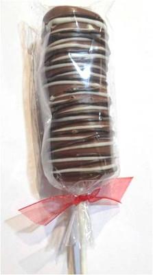 Chocolate Lolly Marshmallow 24/cs