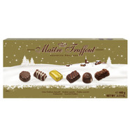 Maitre Truffout assorted WINTER EDITION pralines 400 gr., 12/cs