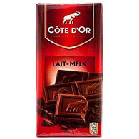 Cote d'Or classic chocolate bar - MILK 100 gr., 15/cs