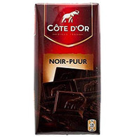 Cote d'Or classic chocolate bar - DARK 100 gr., 15/cs