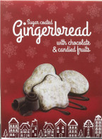 Lindowa sugar coated gingerbread with chocolate & candied fruit 200 gr., 10/cs
