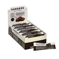 Sanders 3 pc Milk Espresso Sea Salt Caramel with dark drizzle 43 gr., 24/cs