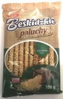 Aksam sesame pretzels 100 gr., 12/cs