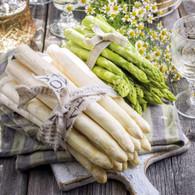"Lunch Napkins - Asparagus 6.5""x6.5"""