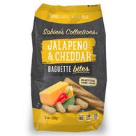 Sabine's Collections Jalapeno & Cheddar Baguette bites  100 gr., 12/cs