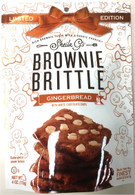 "Sheila G""s Holiday Pack Brownie Brittle "" Gingerbread with white chocolate chips 113 gr. 12/cs"