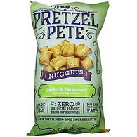 Pretzel Pete Seasoned Nuggets - Garlic Parmesan 270 gr., 12/cs