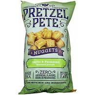Pretzel Pete Seasoned Nuggets - Garlic Parmesan 270 gr., 12/cs