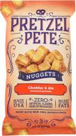 Pretzel Pete Seasoned Nuggets - Cheddar & Ale 270 gr., 12/cs