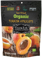 Wild & Raw Organic Turkish Apricots 142 gr., 6/cs