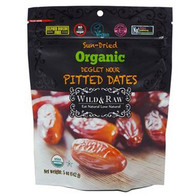 Wild & Raw Organic Pitted Dates 142 gr., 6/cs