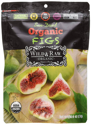 Wild & Raw Organic Figs 170 gr., 6/cs