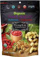 Wild & Raw Organic Power Berries 100 gr., 6/cs
