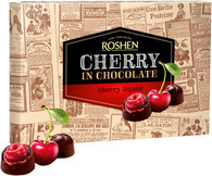 Roshen Cherry in Chocolate - CHERRY LIQUOR 155 gr., 10/cs