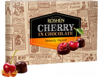 Roshen Cherry in Chocolate - BRANDY LIQUOR 155 gr., 10/cs