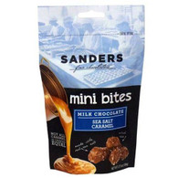 Sanders Mini Bites Milk chocolate covered Sea Salt Caramel Blueberry 106 gr., 12/cs