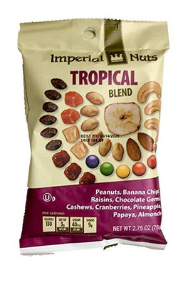 Imperial Nuts Tropical Blend 78 gr., 18/cs